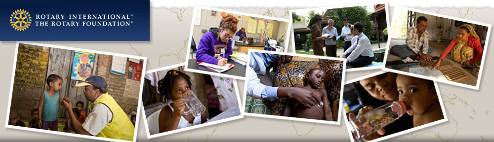 Contribute to Polio Plus and help eradicate polio!